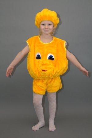 Детский костюм колобок своими руками