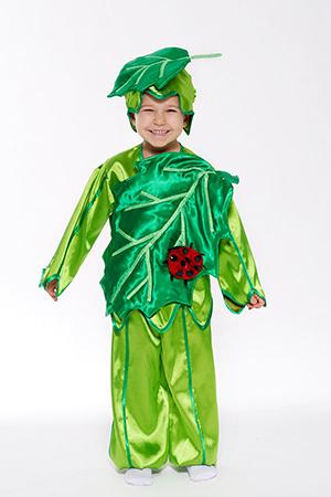 Костюм зеленый листок