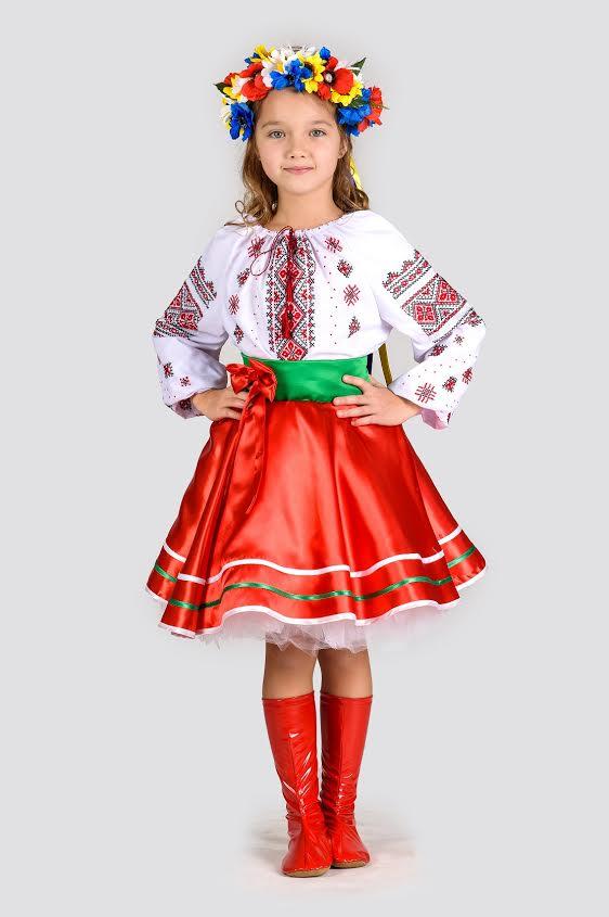 Прокат дитячого національного костюма Українки