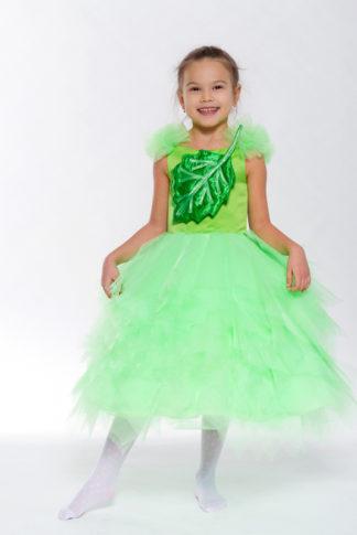 Костюм Зеленый листок девочка