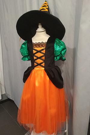 Костюм ведьма оранж